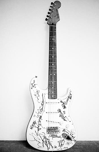 1) Reach out to Asia Fender Stratocaster