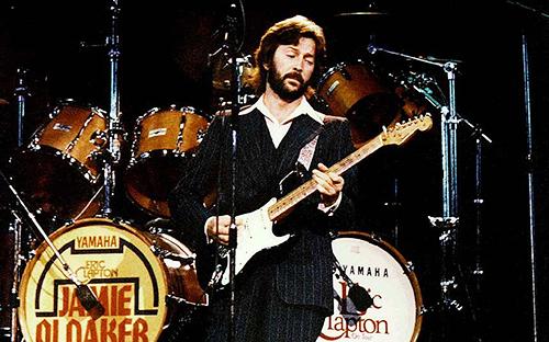 4)Eric Clapton'ın Stratocaster hybrid