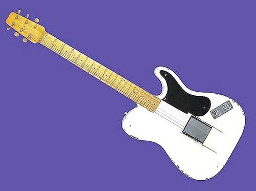 10 -1949 Fender Broadcaster prototipi